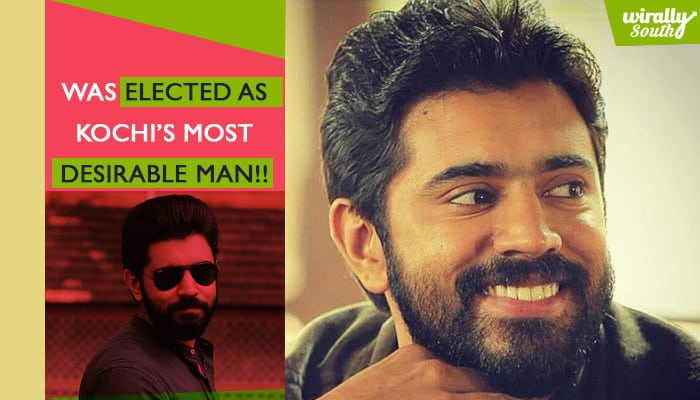 1Was elected as Kochi's Most Desirable Man!!