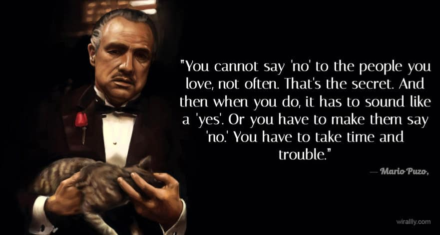 Friendship Quotes Godfather : Gallery for gt the godfather quotes