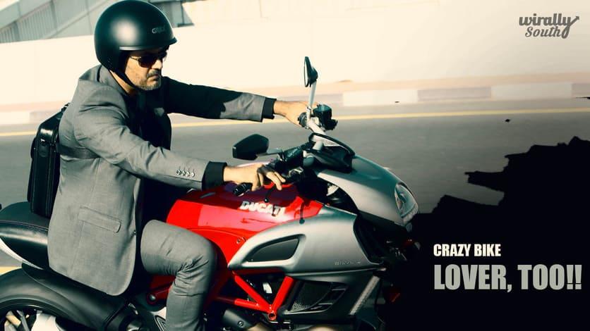 Crazy Bike Lover, too!!