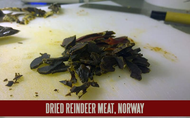 DRIED REINDEER MEAT