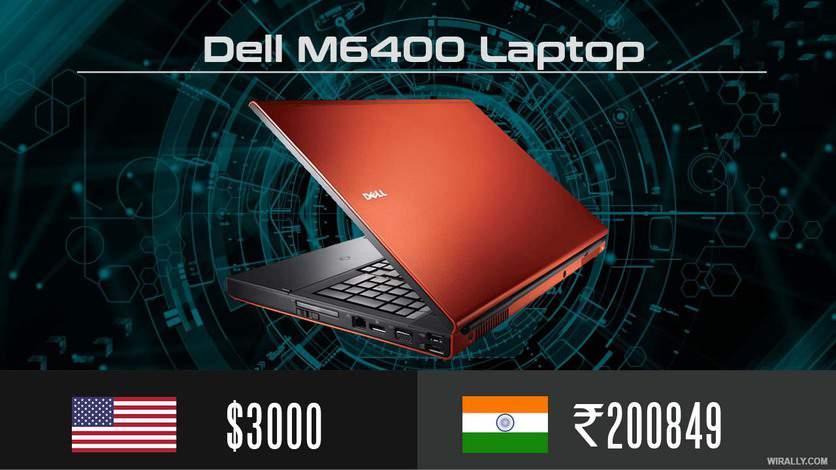 Dell M6400 Laptop