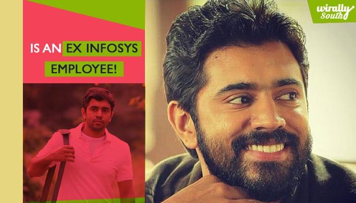 Is an ex Infosys employee!