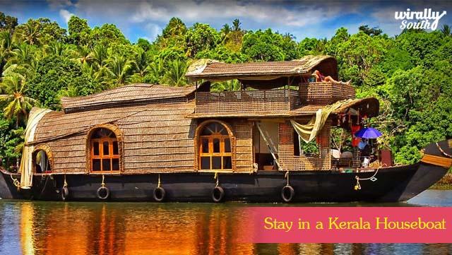 Stay in a Kerala Houseboat