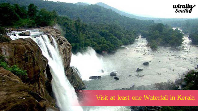 Visit at least one Waterfall in Kerala