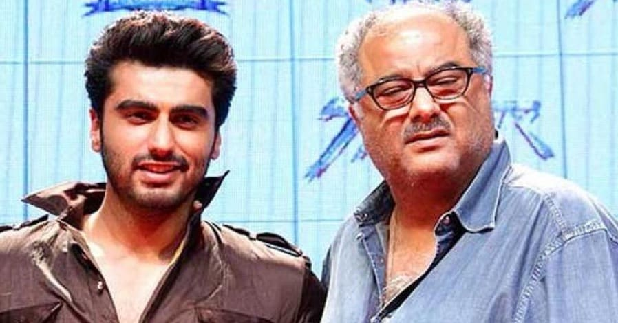 Boney Kapoor and Arjun Kapoor
