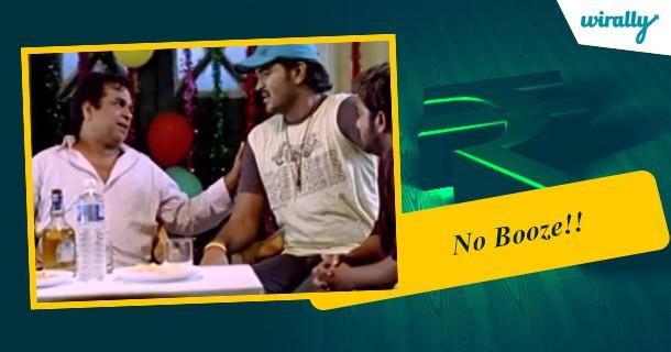 No Booze!!