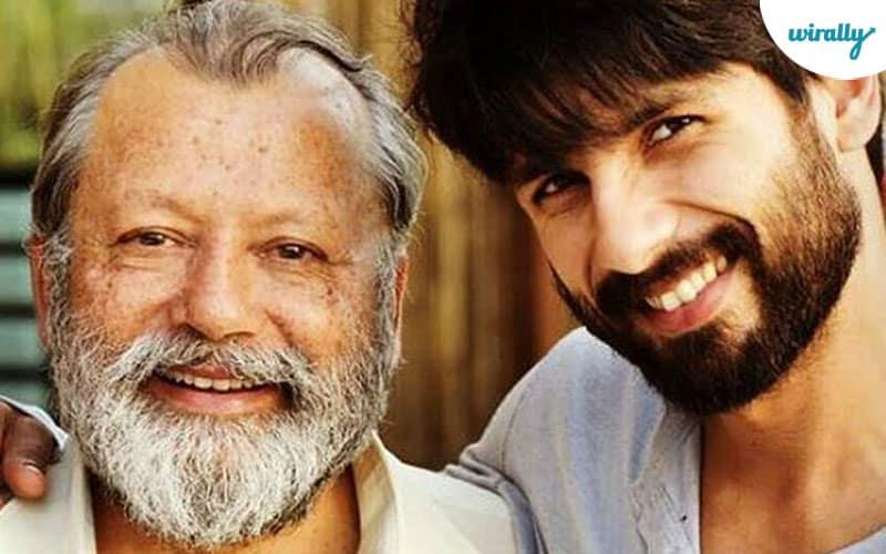 Pankaj Kapoor and Shahid Kapoor