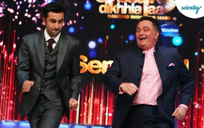 Rishi Kapoor and Rabir Kapoor1
