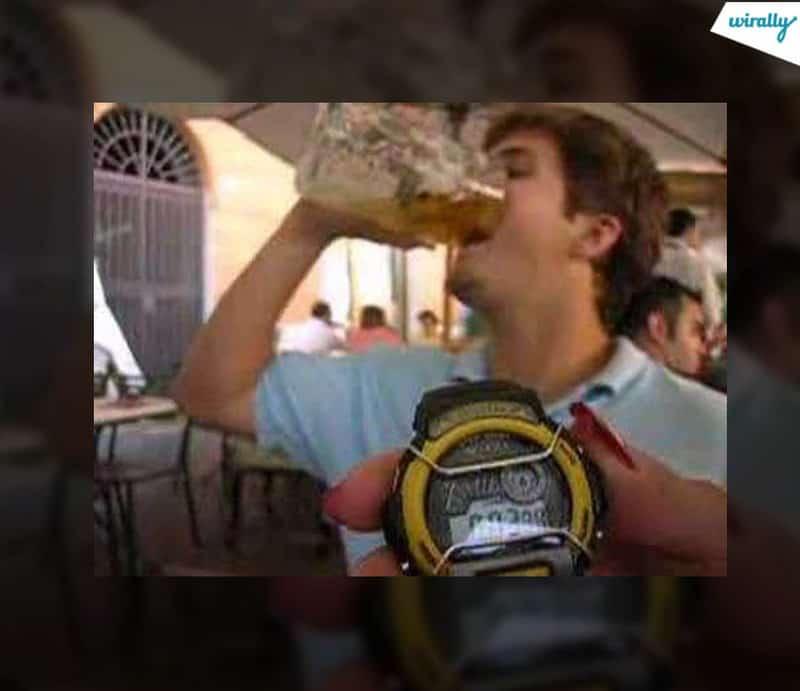 fast drinker