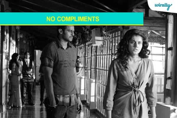 4.No compliments