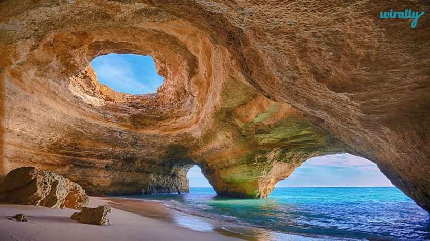 5 Cave in Algarve, Portugal