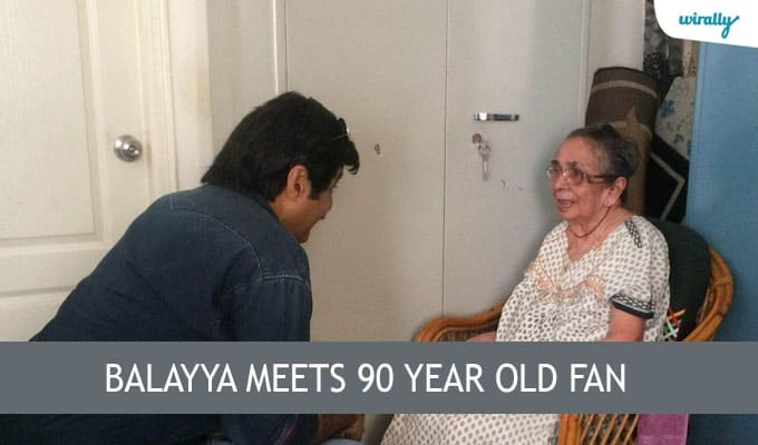 Balayya meets 90 year old fan