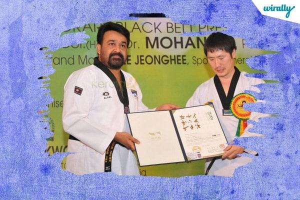Black Belt Holder