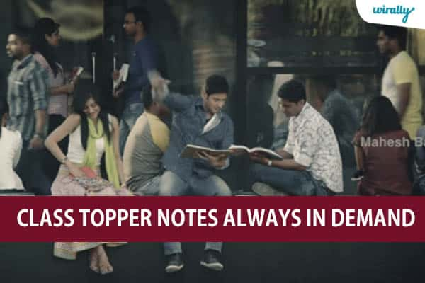 Class topper notes always in demand