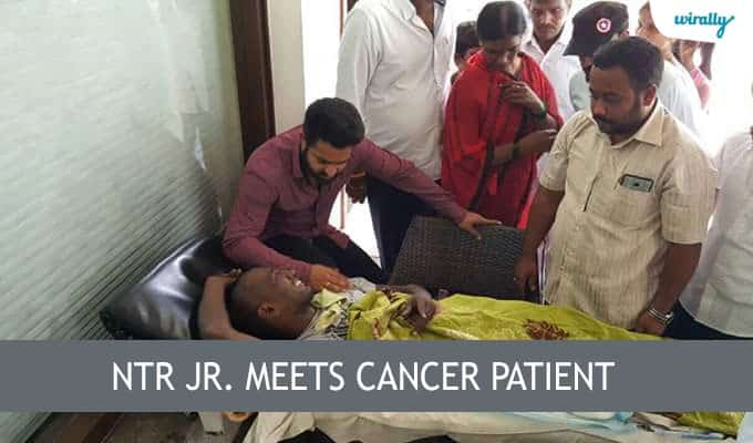 NTR Jr. meets cancer patient