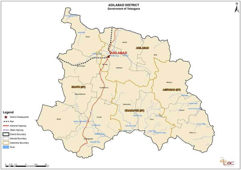 The Proposed 27 New Districts Of Telangana Have Been Made Available