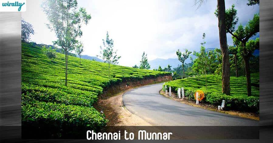 Chennai to Munnar