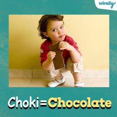 Choki-Chocolate