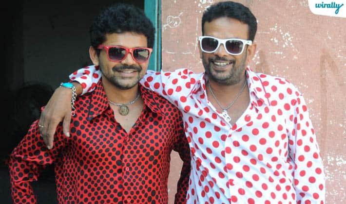 Jogi naidu and Krishnam raju