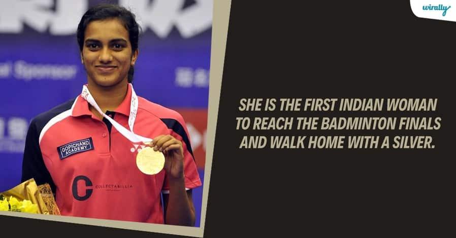PV Sindhu sliver medal