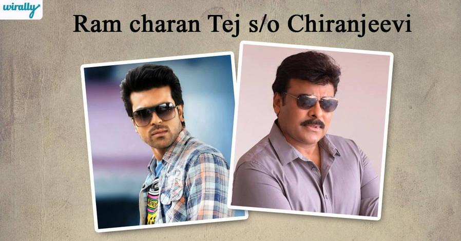Ram charan Tej - Chiranjeevi