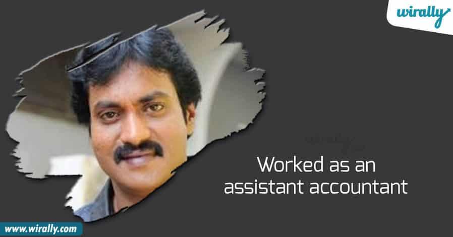 sunil, Comedian sunil, sunil assistant accountant