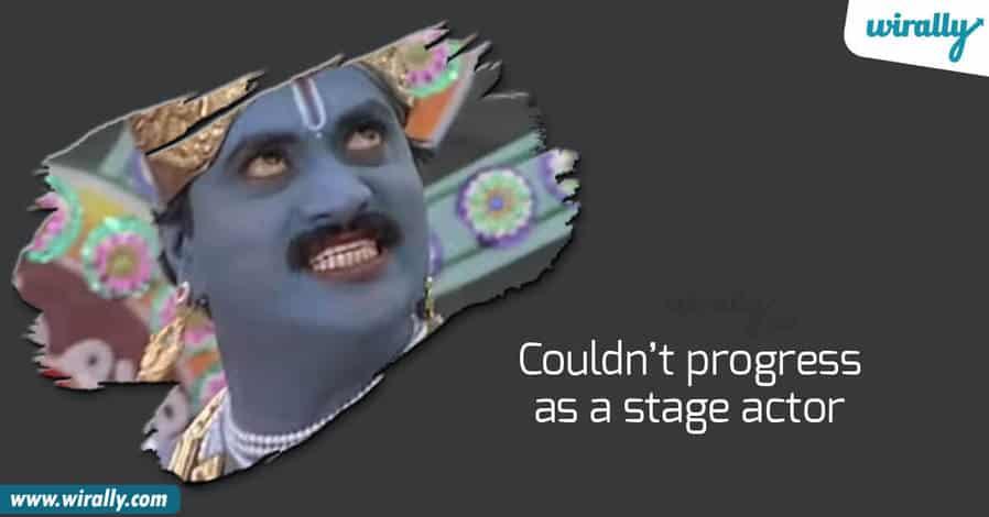 sunil, Comedian sunil, sunil as stage actor