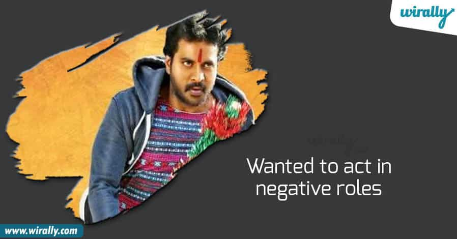 sunil, Comedian sunil, sunil Assistant director, sunil negative roles