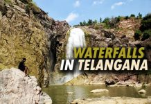 Bandrev Waterfall, Bheemuni Paadam Waterfalls, Bogatha Falls, Ethipothala Falls, Gayathri Waterfalls, Kanakai Waterfalls, Kuntala Falls, Mallela Theertham, Pochera Falls, Telangana, Waterfalls around in Telangana