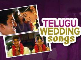 Wedding songs, Wedding songs in Telugu, Srirastu shubamastu from Peeli Pustakam, Alanati Ramachandrudu from Murari, Aidurojula Pelli from Varudu, Maate Mantramu from Seethakoka Chiluka, Sootiga Choodaku from Ishq, Super Machi from S/O Satyamurthy, Kalyaname vaibhogame from Kalyana Vaibhogam, Meghallo Sannai Ragam Mogindi from SVSC, Rama Chakkani Seetha from Godavari, Seetha Kalyanam from Ra Ra Krishnayya, Kala kalalu from Thammudu,