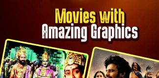 Pathalabhairavi Movie, Mayabazaar Movie, Bhairavadweepam Movie, Devi putrudu Movie, Anji Movie, Arundhati Movie, Anaganaga oka dheerudu Movie, Yamadonga Movie, Magadheera Movie, Eega Movie, Robot Movie, Sahasam Movie, Rudramadevi Movie, Baahubali Movie