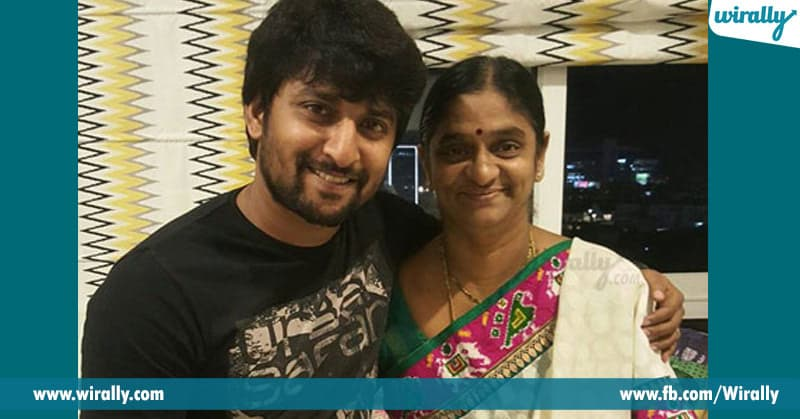 nani with his mother
