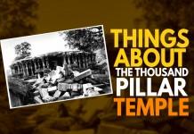 Thousand Pillar temple, Warangal, Telangana, South India,