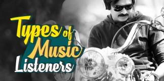 Music Listeners, Music Lovers, Ravi Teja, Sunil, Dhanush, Pawan Kalyan, Chiranjeevi, Nithya Menen, Asin, Allu Arjun, Venkatesh,