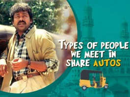 Types of people in share autos