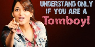 Tollywood Tomboy actress, Tomboy