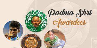 Balbir Singh Seechewal, Bipin Ganatra, Chintakindi Mallesham, Daripalli Ramaiah, Dr Suhas Vitthal Mapuskar, Dr Suniti Solomon, Dr. Bhakti Yadav, Dr. Subroto Das, Eli Ahmad, Eli Ahmed, Genabhai Dargabhai Patel, Girish Bharadwaj, Karimul Haque, Mariyappan Thangavelu, Meenakshi Amma, Padma Shri award, Sukri Bomma Gowda