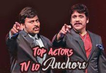 Top actors, TV lo anchors, Jagapathi babu, ko ante koti, Chiru Mek, Nag Mek, Ramya Krishnan Radhika, bangaram mikosam, Saikumar wow, Posani batku jatka bandi, Roja, modern mahalakshmi, lucku kicku, Amani Nene satyabhamane, Dharmavarapu Subramanyam, kurkure kalale nijamaithe, ding dong, Ali alitho saradaga, Ali 369, dance baby dance