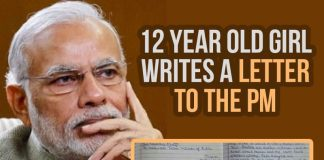 Little Citizen of India, Letter To PM