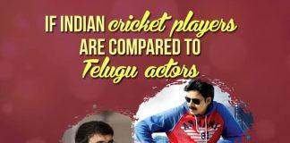 cricket players Telugu actors