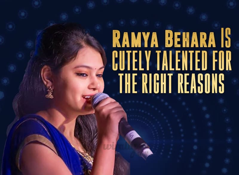 Singer Ramya Behara, Ramya Behara, Telugu Film Industry, Mellaga Tellarindoi Song, Shatamanam Bhavati Movie, Rang De Song, A Aa Movie, Naidorintikada Song, Brahmotsavam Movie, Dheevara Song, Bahubali Movie, Kung Fu Kumari Song, Bruce Lee Movie, Coffee Song, Geetanjali Movie, Ninna Lenantha Song, Oka Manasu Movie, Soodu Soodu Song, Loukyam Movie, Choolenga Asama Song, Temper Movie, Osi Prema Rakshasi – Kotha Janta Movie, Guvva Gorinkatho Song, Subramanyam for Sale Movie, Main Tujhe Pyaar Nahi KArti Song, Baby Movie,