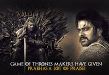 Game of Thrones, Prabhas, Baahubali Movie,