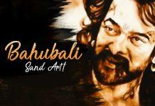 Bahubali Sand Art, Bahubali