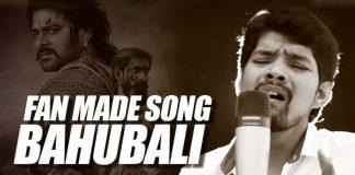 Bahubali, Bahubali 2, Bahubali 2 Fan Made Song, Bahubali 2 Fan Made Video Song by Aravvind Raama, AR Musical, Aravvind Raama, Aravvind Bahubali SOng