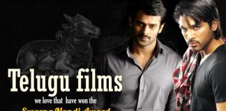 Swarna Nandi Award, Swarna Nandi Awards, Nandi Awards, Mirchi Movie, Eega Movie, Sri Rama Rajyam Movie, Vedam Movie, Gamyam Movie, Chirunavvutho Movie, Annamayya Movie, Geetanjali Movie, Swati Muthyam Movie,