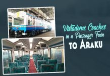 Vistadome Coaches, Araku,