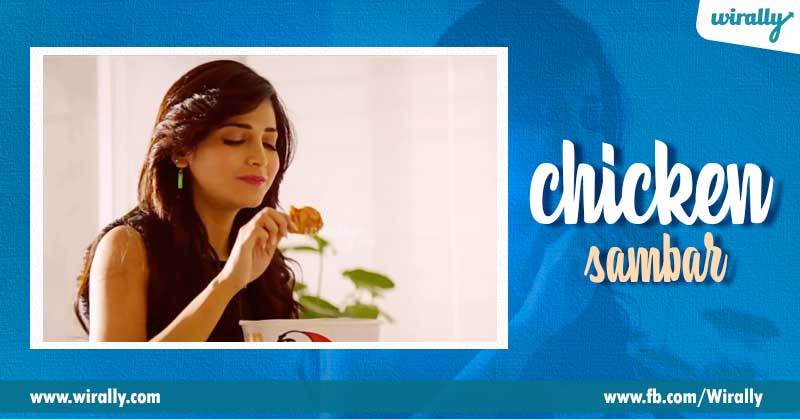 2.-Shruthi-Hassan---chicken-sambar