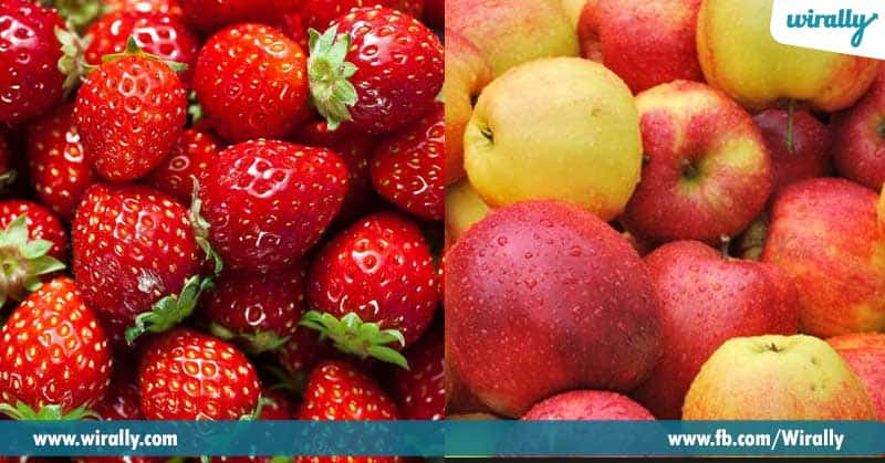 9.-Strawberries,-Apples