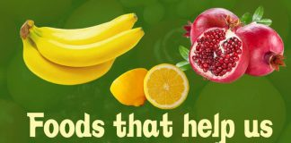 skin, Beetroots, Pomegranate, Tomatoes, Amla, Dark chocolate, Walnuts, Carrots, Chickpeas, Spinach, Lemons, Bananas, Papaya,