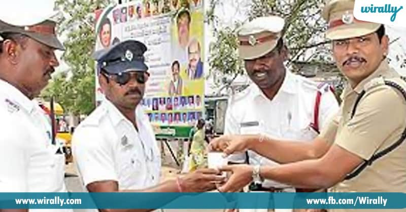 Ragi Malt being given to Traffic Constables2